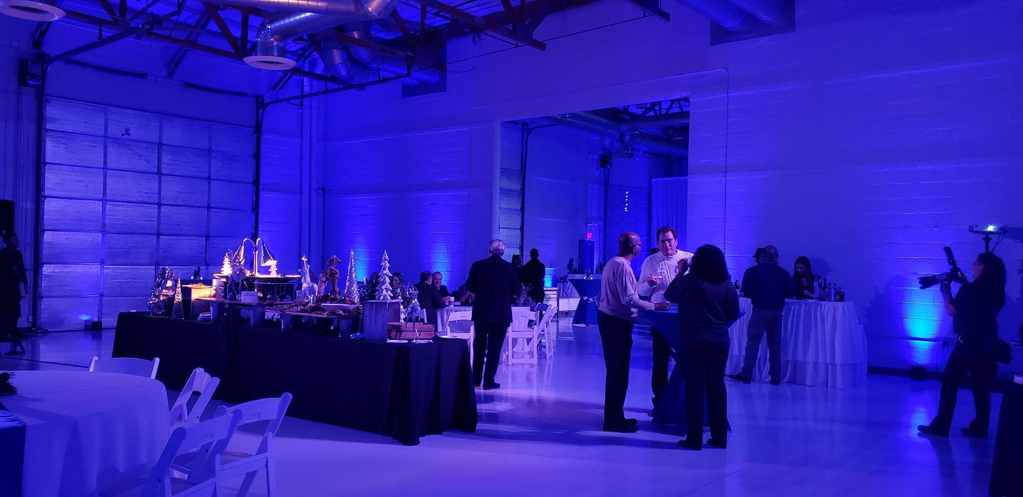 Luxury Lighting Heli Hangar Scottsdale