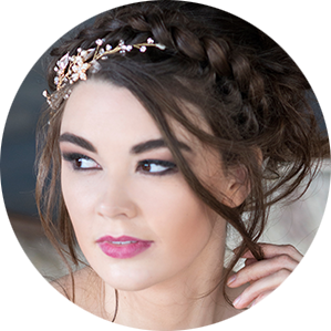 wedding hair and makeup in Denver