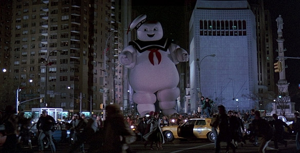 Ghostbusters Stay Puff Man