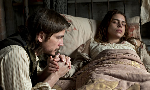 Love and death … Josh Hartnett as Ethan Chandler and Billie Piper as Brona Croft in episode eight of