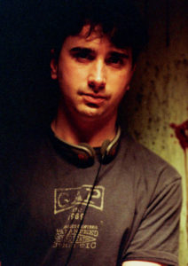 Writer-director Anthony C. Ferrante on the set of BOO