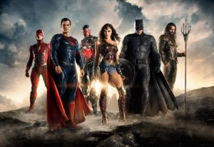 First official JUSTICE LEAGUE image.