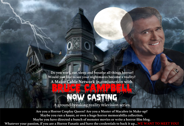 Bruce Campbell Haunted House