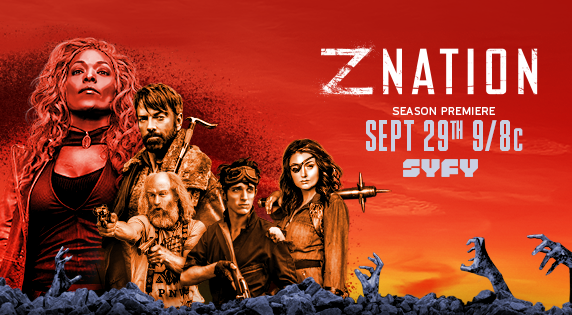 Z Nation - Season 4 on SyFy