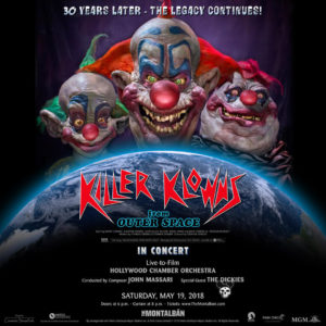 Killer Klowns From Outer Space 30th Anniversary