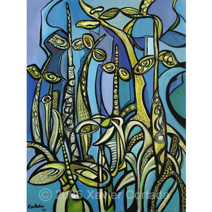Mangroves (on Blue)