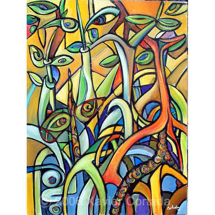 Mangroves on Yellow