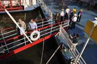 Welcome aboard, Allegheny River Cruise, 2011