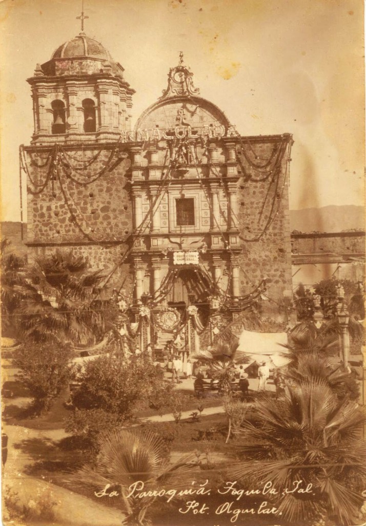 Iglesia de Tequila en la epoca colonial