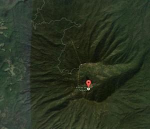 Camino al Volcan de Tequila