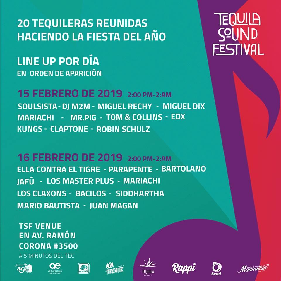 Tequila Sound Festival en Guadalajara (Zapopan) Jalisco México