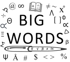 The Big Words Blog Site