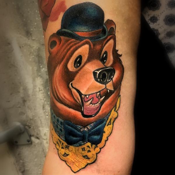 Dock: Dapper Bear