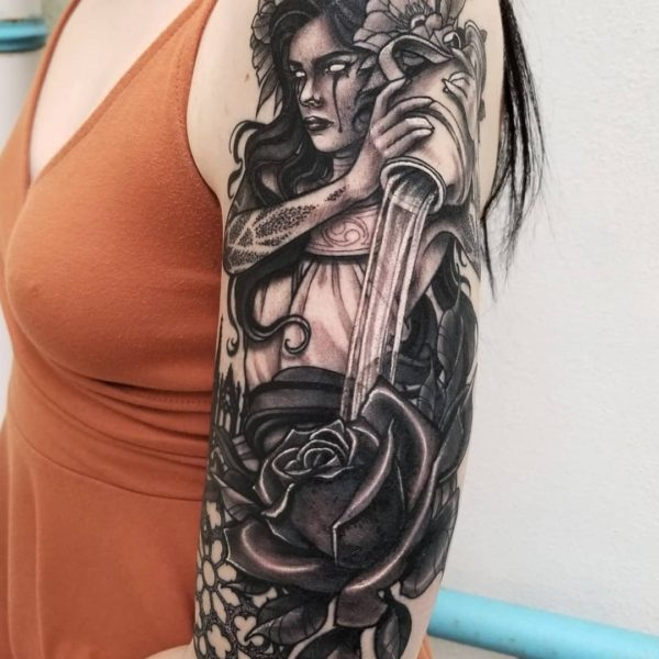 Angela: Spooky Aquarius Lady