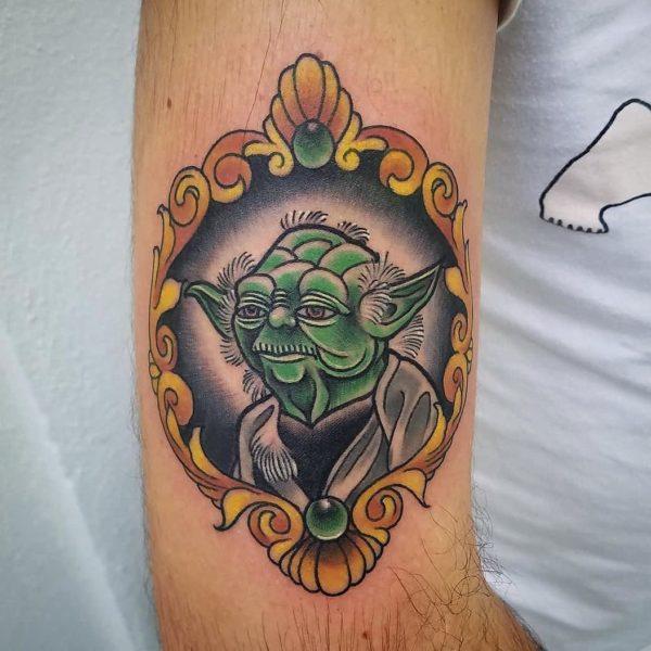 Brandon: Traditional Yoda