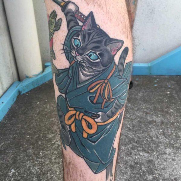Dock: Samurai Cat