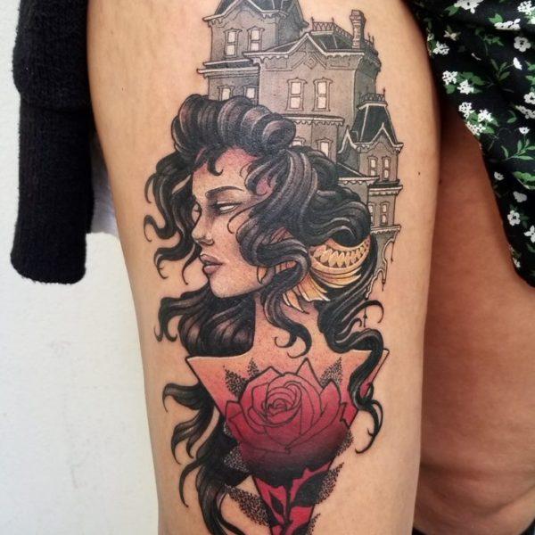 Angela: Castle Spooky Lady