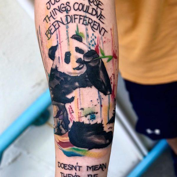 Brandon: Watercolor Panda