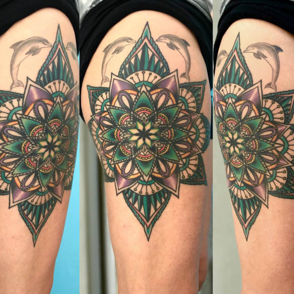 Brandon: Color Mandala (healed photo)