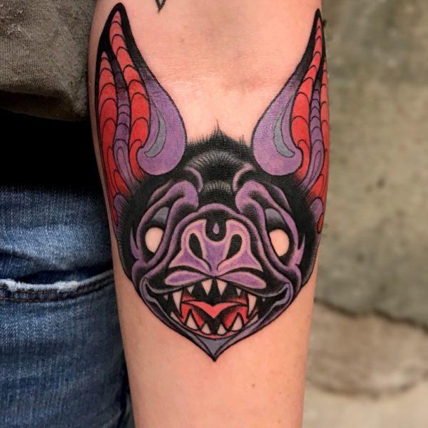 Dock: Purple Bat