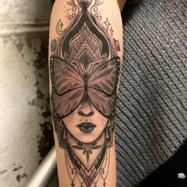 Dock: Butterfly Lady