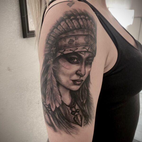 Zakk: Native American Lady