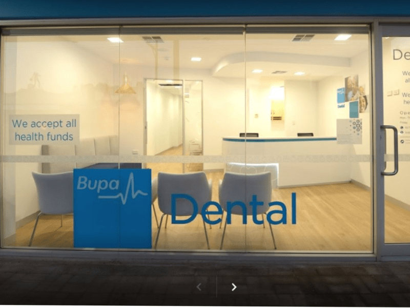 Front of BUPA Dental Goodwood
