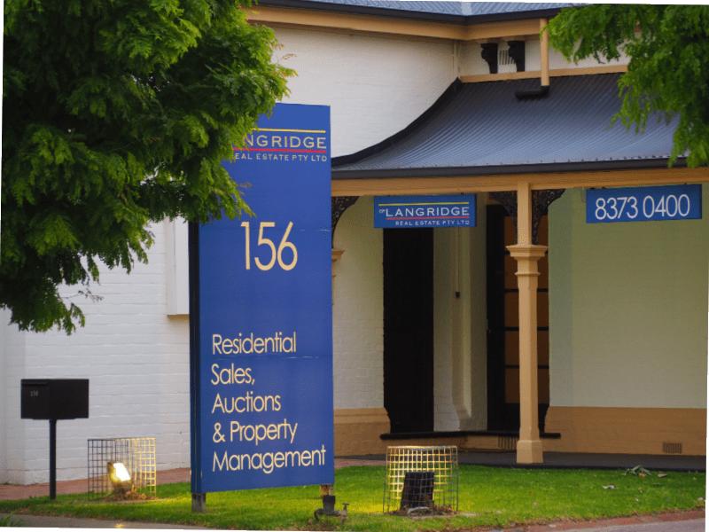 GP Langridge Real Estate Building on Goodwood Road