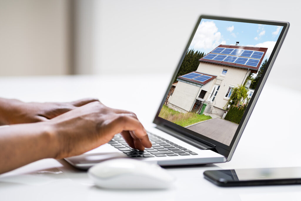 real estate online search