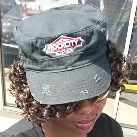 Rock City Cycles Black Cap