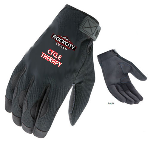 Rock City Cycles Halo Gloves – Cycles Therapy