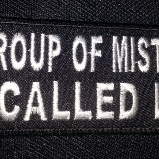 """A Group Of Mistakes Is Called Life"" patch"
