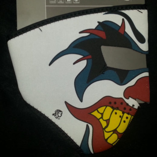 Zan Headgear Full Face Neoprene Mask – Clown