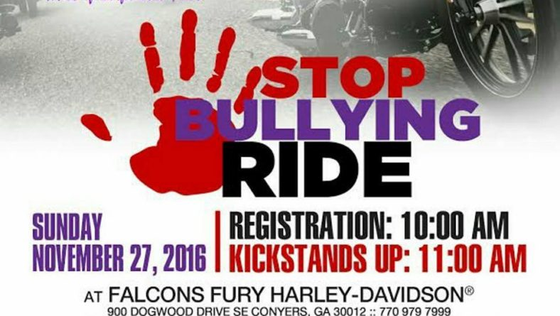 STOP BULLYING RIDE!!!