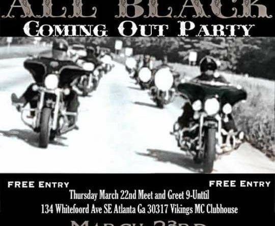 N2P All Black Coming Out Party – Thursday, March 23, 2018