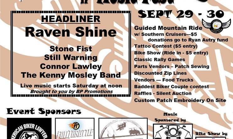 ABATE of GA Zip Rally N' Music Fest – 9/30/18