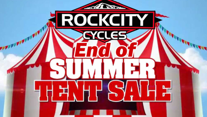 "Rock City Cycles ""End of Summer Tent Sale"" – Sat., 11/3/18"