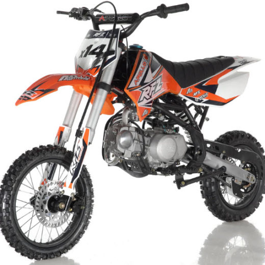Apollo DB-X14 125cc Semi-Automatic Dirt Bike