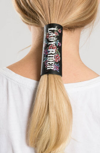 Lady Rider Roses Hair Glove