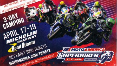 MotoAmerica Superbikes @ Michelin Raceway Road Atlanta
