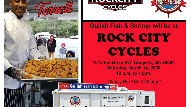 Gullah Fish & Shrimp @ Rock City Cycles