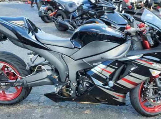 2008 Kawasaki Ninja ZX-6R ZX600P8F