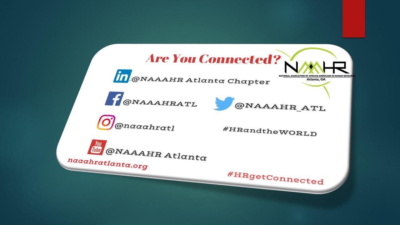 NAAAHR connected flyer