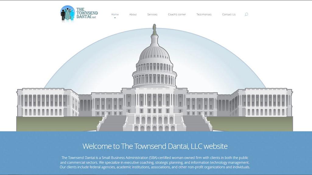 Townsend Dantai WordPress Website