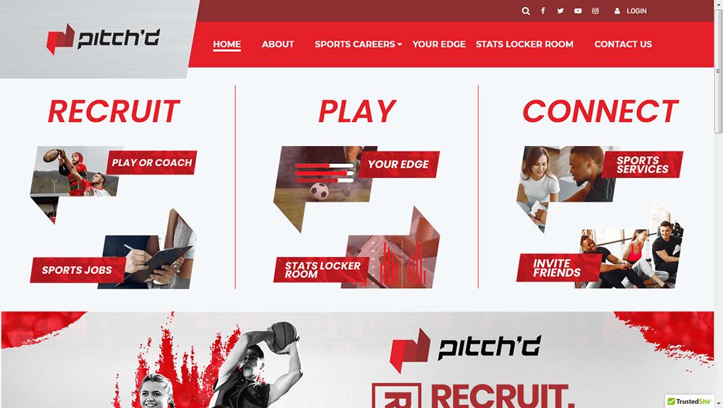 PitchD Laravel Website