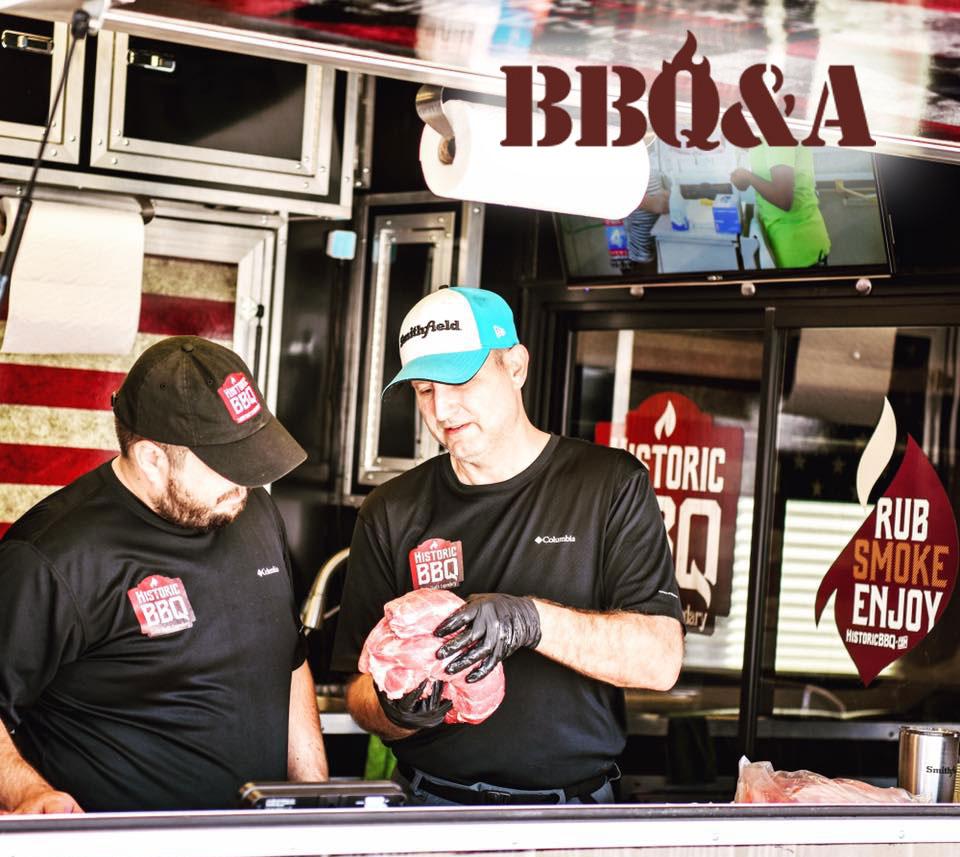 Historic BBQ food truck