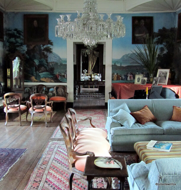 Series of living rooms, Casa de Sezim, Guimaraes Portugal