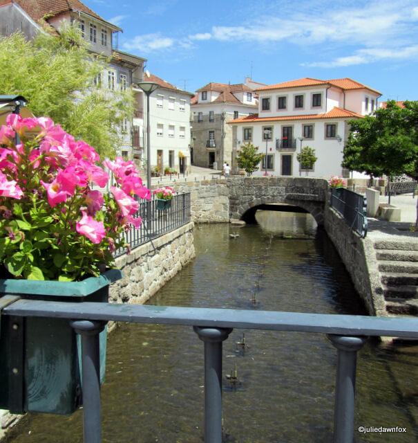The ancient bridge, Santa Comba Dão