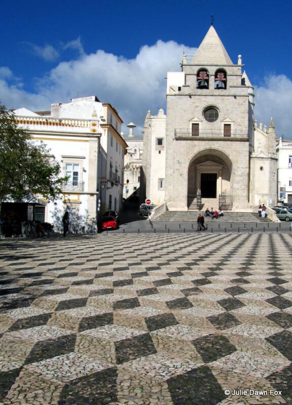 Exterior, old cathedral, Elvas