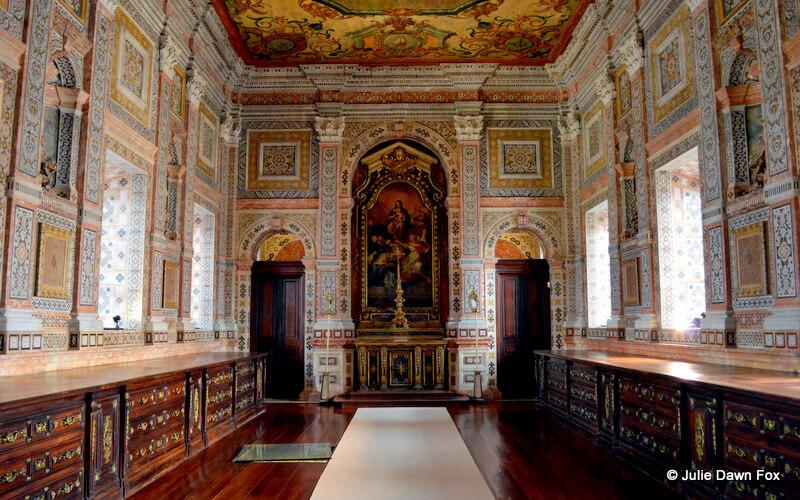 Sacristy, São Vicente de Fora monastery, Lisbon